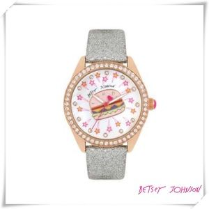 ✤ Diner Time Burgertastic Watch by Betsey Johnson